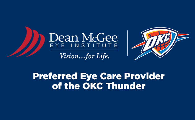 dmei is preferred eye care provider for the OKC Thunder